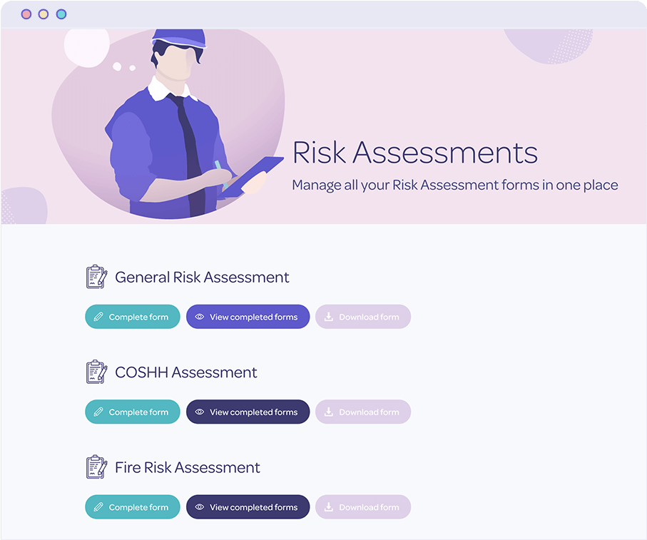 Protecting risk assessments